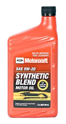 Моторное масло Motorcraft Synthetic Blend 1л