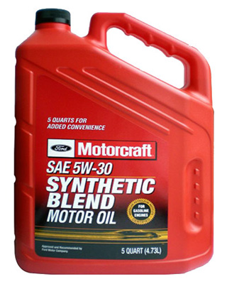 Моторное масло Motorcraft Synthetic Blend 5л