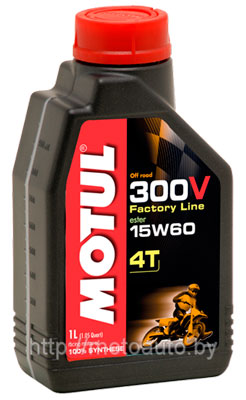Моторное масло Motul 300V 4T OFF ROAD 1л