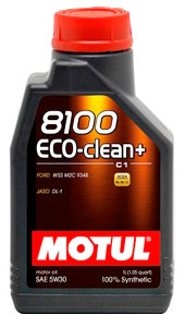 Моторное масло Motul 8100 Eco-clean Plus 1л