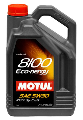 Моторное масло Motul 8100 Eco-nergy 5л