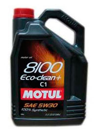 Моторное масло Motul 8100 Eco-clean Plus 5л