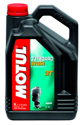 Моторное масло Motul OUTBOARD SYNTH 2T 5л