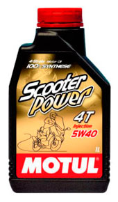 Моторное масло Motul Scooter Power 4T 1л