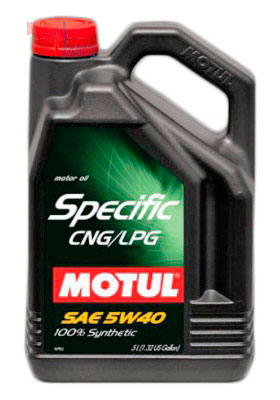 Моторное масло Motul SPECIFIC CNG/LPG 5л