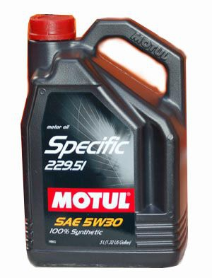Моторное масло Motul Specific MB 229.51 5л