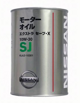 Моторное масло Nissan Extra Save X 10W-30 SJ 1л