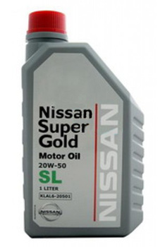 Моторное масло Nissan Super Gold 20W-50 1л
