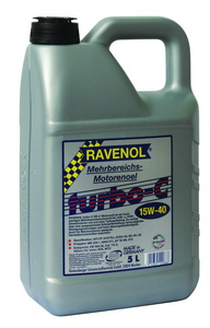 Моторное масло Ravenol Turbo-C HD-C 5л