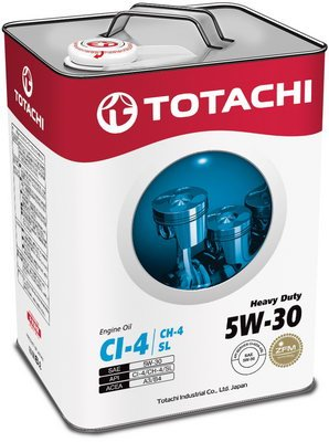 Моторное масло Totachi Heavy Duty 5W-30 6л