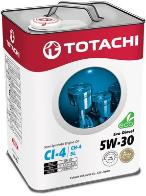 Моторное масло Totachi Eco Diesel 5W-30 6л