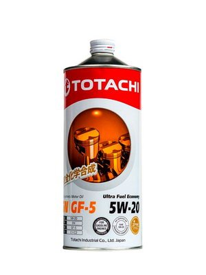 Моторное масло Totachi Ultra Fuel Economy 5W-20 1л