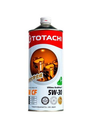 Моторное масло Totachi Ultima Ecodrive F 5W-30 1л