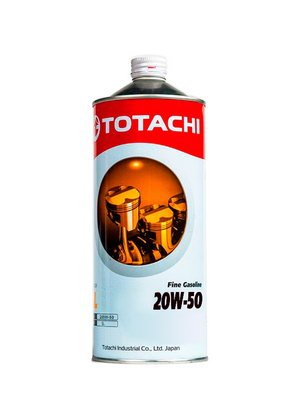 Моторное масло Totachi Fine Gasoline 20W-50 1л