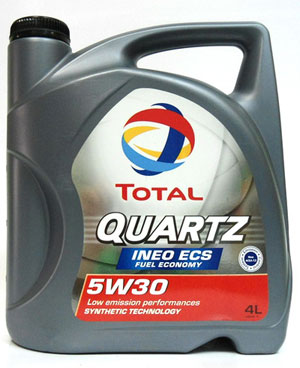 Моторное масло Total Quartz INEO ECS 4л