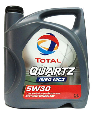 Моторное масло Total Quartz INEO MC3 5л