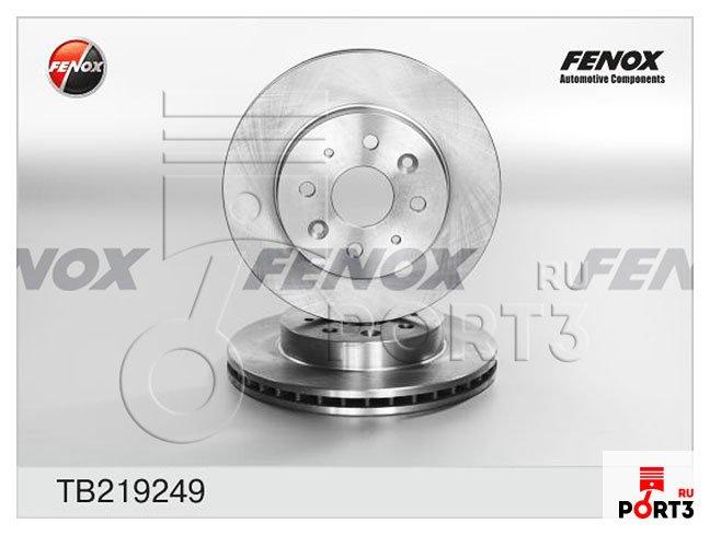 TB219249 Тормозной диск FENOX - описание, фото, аналоги