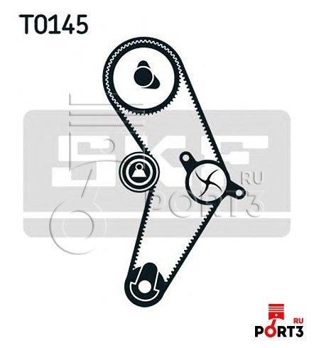 Купить Ролик натяжения ремня ГРМ, Рено Логан II 1.6 (2012->) GATES ... | 490x442